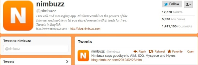 Nimbuzz blog says, ICQ, AIM, Myspace and Hyves will no longer be