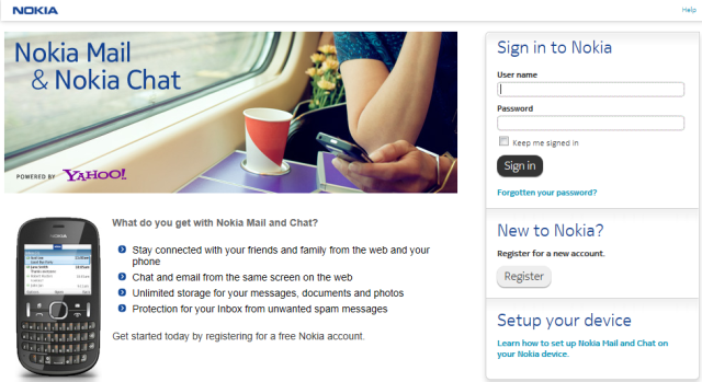 Ovi mail & chat renamed as Nokia mail & chat !! Nokia