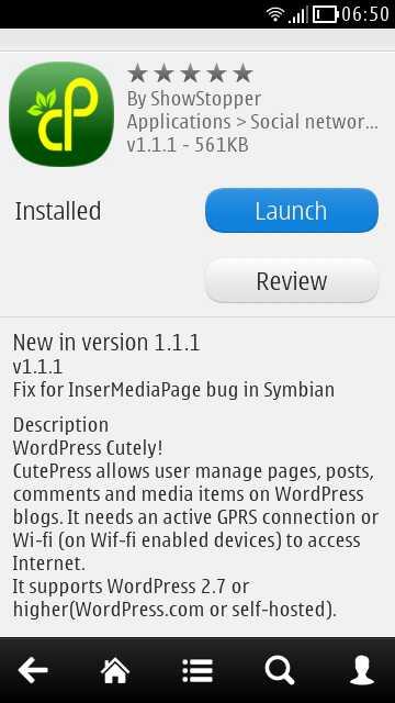 Symbian App updates,Cutepress updated to version v1 1 1, CNN