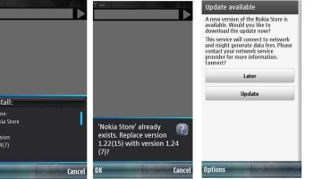 Nokia store update 1 22 (15) available for S60V5 devices