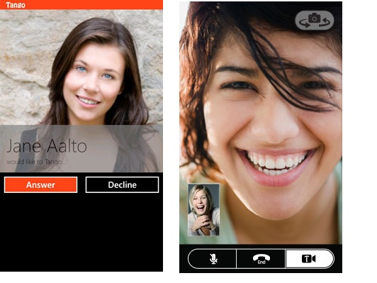 Official Nokia article on Tango video calls application for