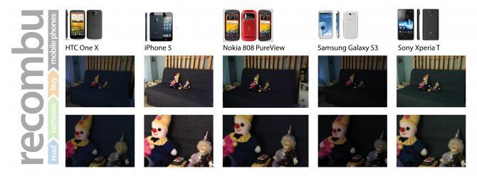 iphone 5 vs samsung galaxy s3 vs htc one x camera