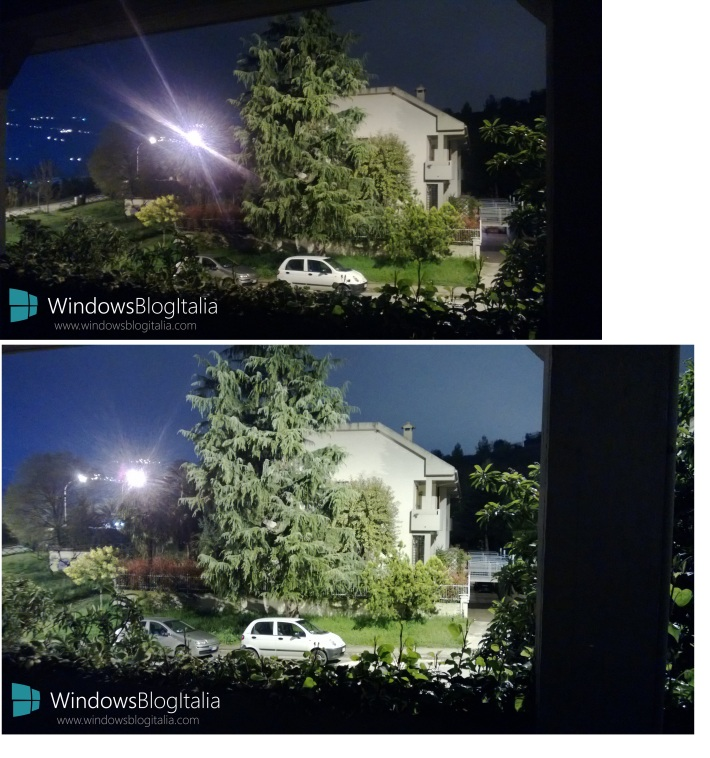 Lumia 920 vs Lumia 720 low light