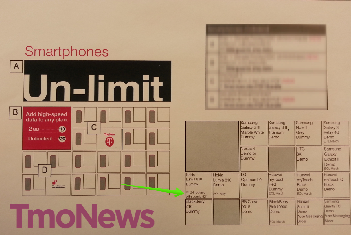Lumia 521 software update - Above Screenshot Has Been Leaked By Tmonews Which Surprisingly Shows That Lumia 810 Is Getting Eoled End Of Life In May At T Mobile