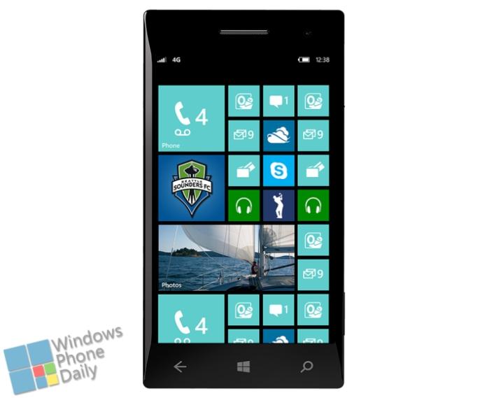 windows phone 8 gdr3 mockup start screen